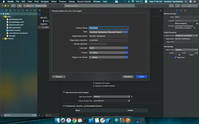 Xcode UI testing -iOS